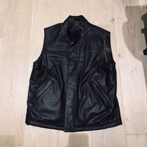 Robert Talbott Men's Leather Vest